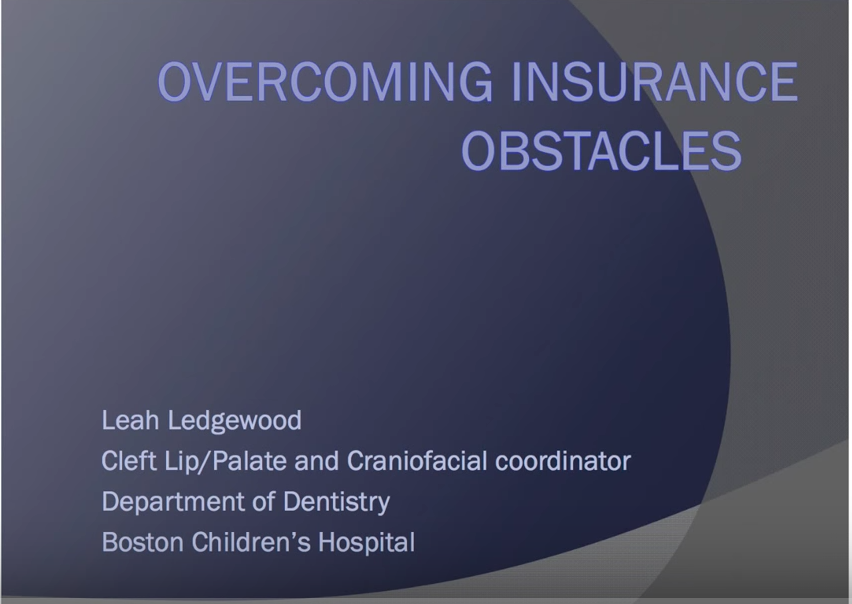 Overcoming Insurance Obstacles