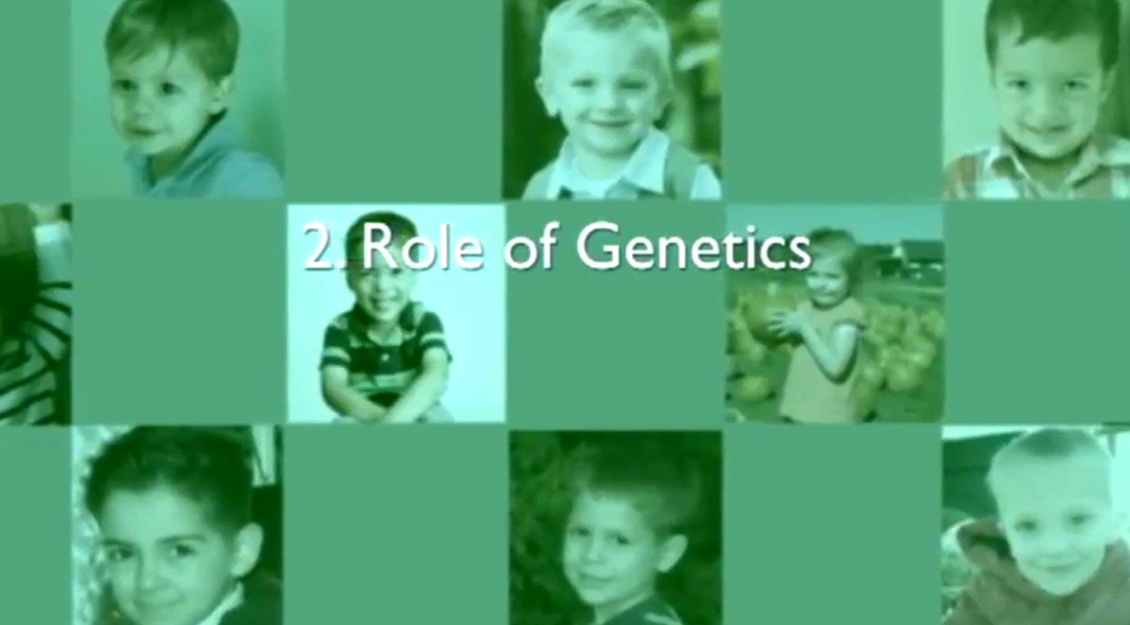 Chapter 2 – Role of Genetics