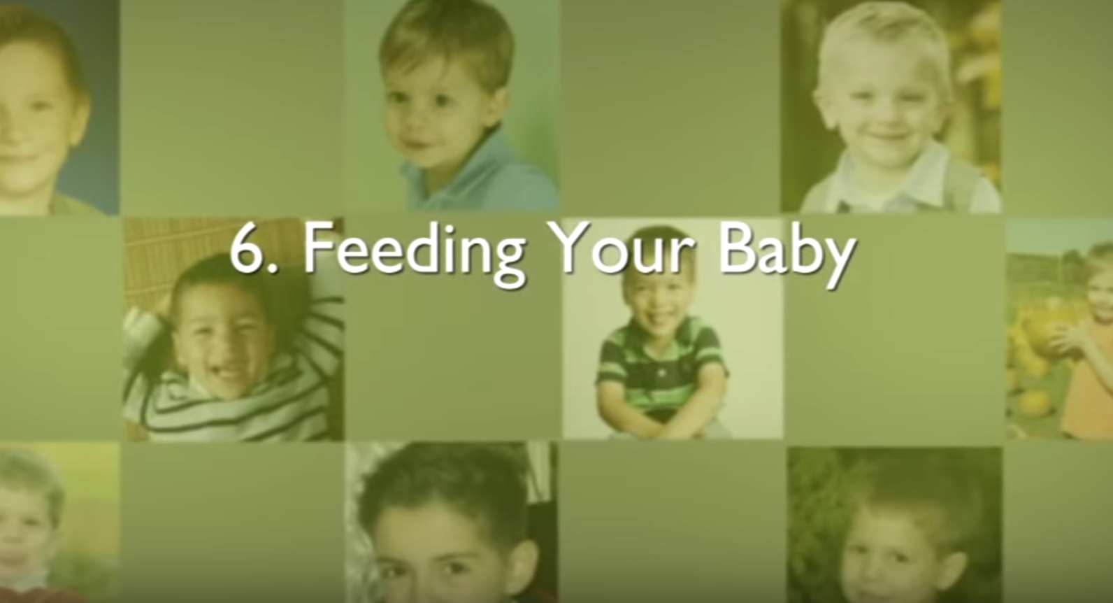 Chapter 6 – Feeding Your Baby