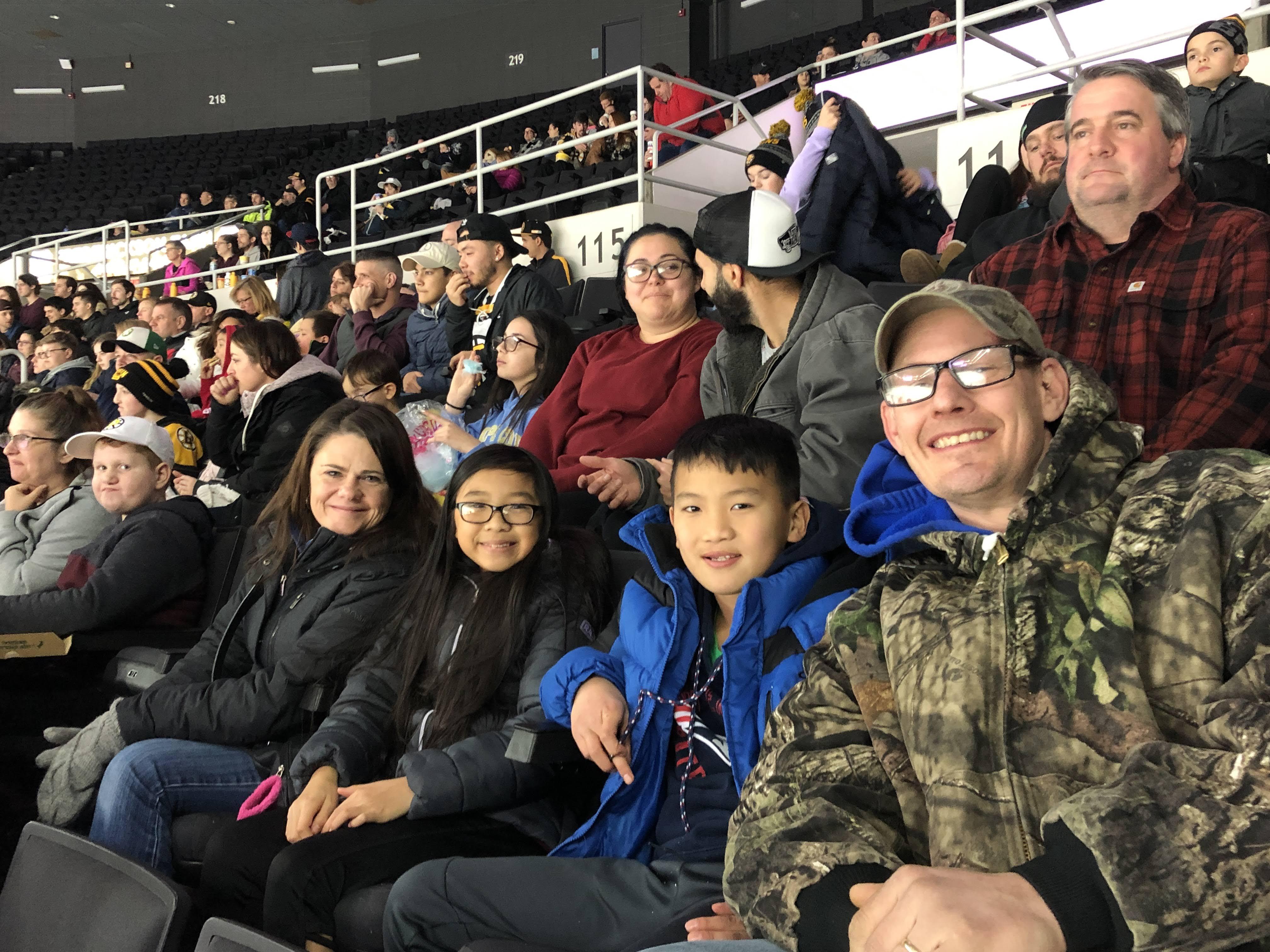 2019 Providence Bruins Hockey Game